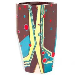 Unique 21st Century Cast Resin Kyoto Vase