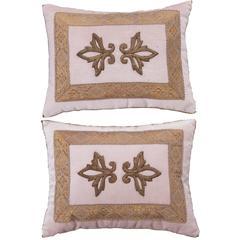 Antique Textile Pillows by B.Viz Designs