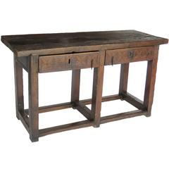 17th Century Walnut Console Table