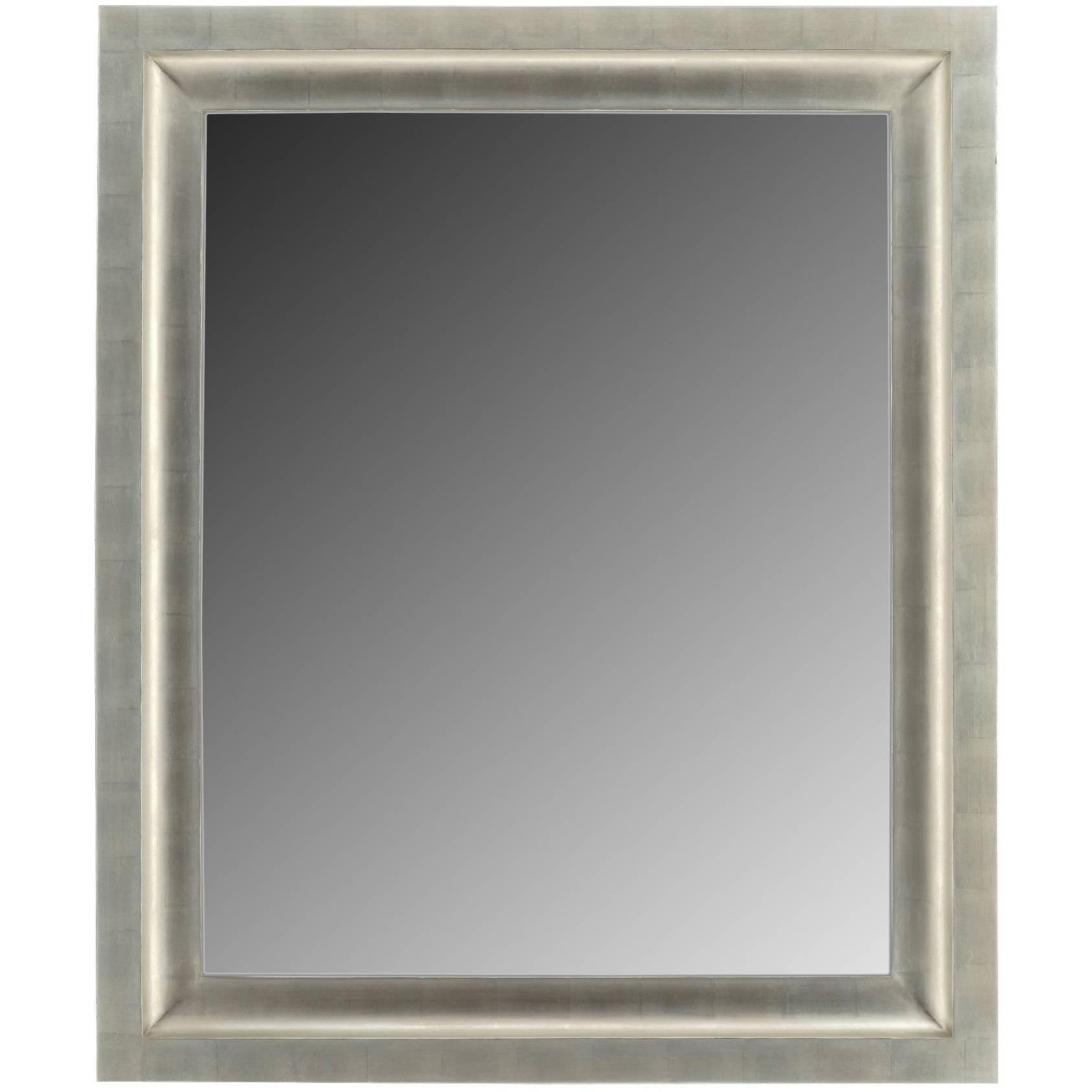 Contemporary Silver Gilt Mirror