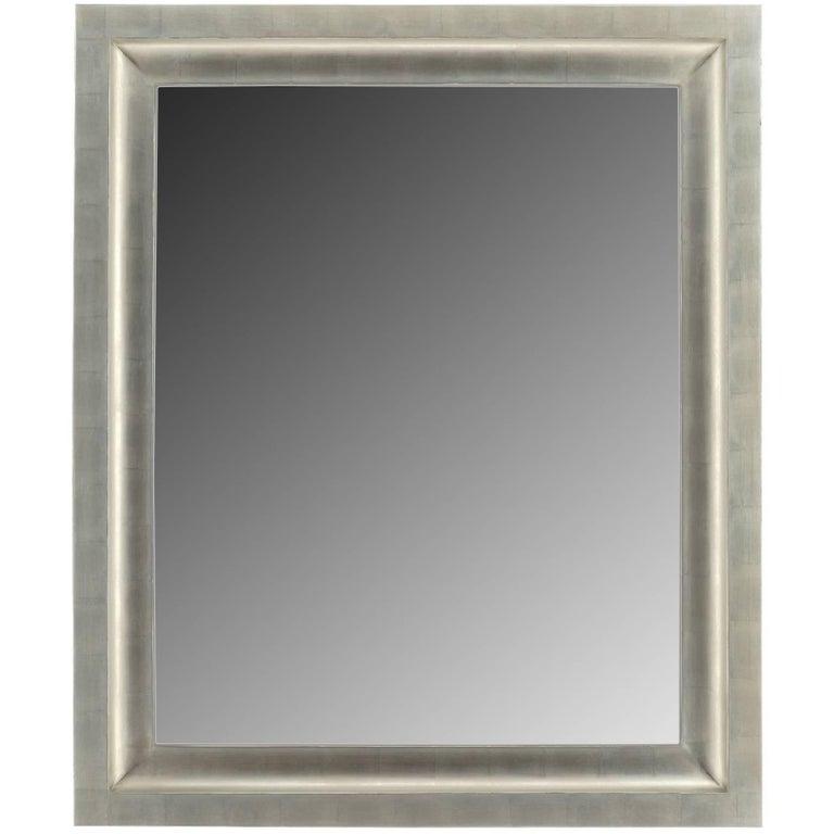 Contemporary Silver Gilt Mirror For Sale