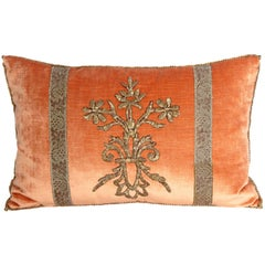 Antique Textile Pillow by Rebecca Vizard