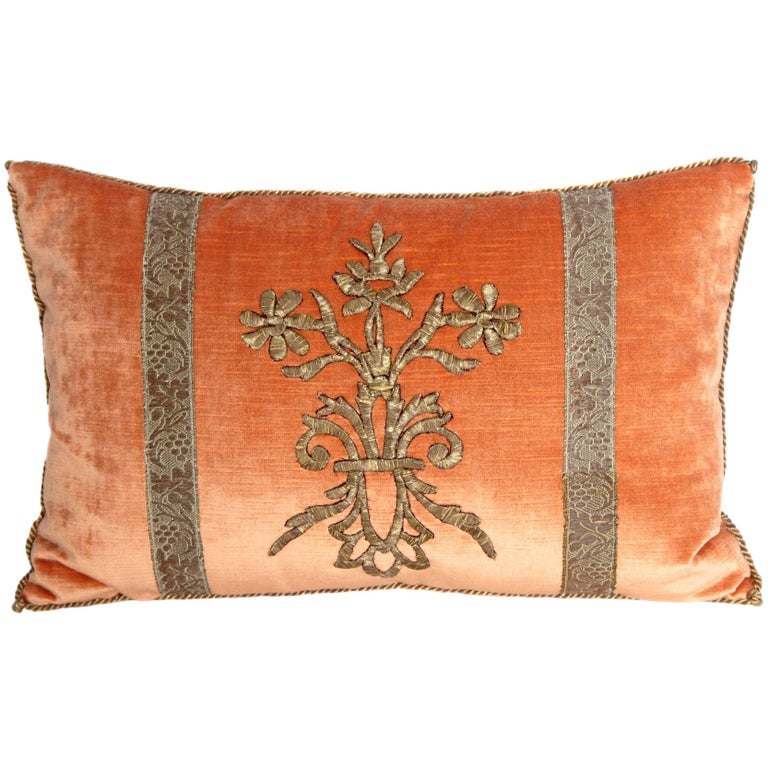 Antique Textile Pillow by Rebecca Vizard 1