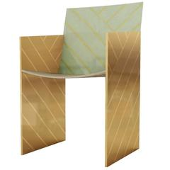 Nesso Dining Chair Mint by Matteo Cibic for Scarlet Splendour