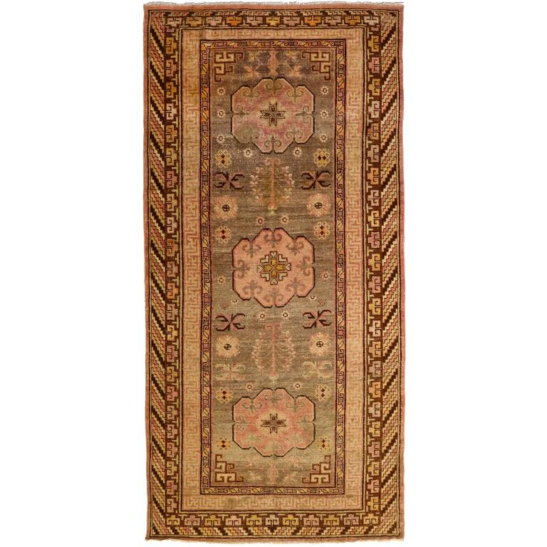 Antique Khotan Rug, circa 1880s For Sale