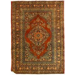 Antique Persian Tabriz Haji Jalili Rug, circa 1880s