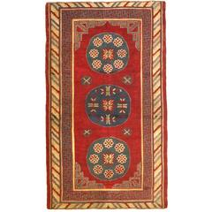 Antique Samarkand Rug, circa 1900s