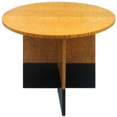 Art Deco 1930s Hungarian Ash Occasional Gate-Leg Table