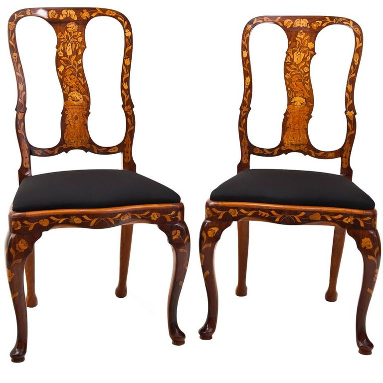 Dutch Baroque Chairs 18th Century For Sale At 1stdibs