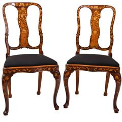 Dutch Baroque Chairs, 18th Century