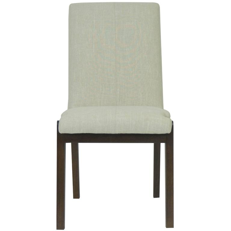 Tall Casual Upholstered Dining Chair
