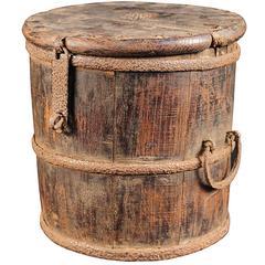 Chinese Merchant's Coin Barrel