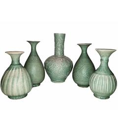 Selection of Thai Ceramic Vases