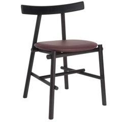 Ronin Padded Chair, Black Frame