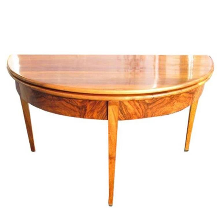 Biedermeier Console And Dining Table For Sale At 1stdibs