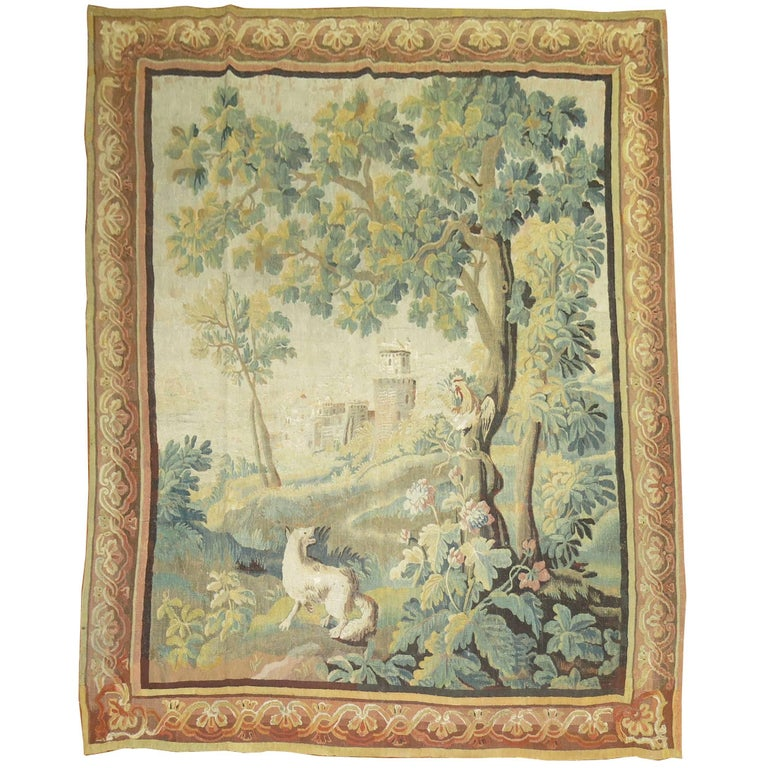 18th Century Antique French Tapestry