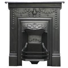 Reclaimed Edwardian Cast Iron Bedroom Fireplace