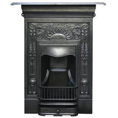 large reclaimed antique cast iron fireplace for sale at 1stdibs rh 1stdibs com Old Cast Iron Wood-Burning Stoves Cast Iron Fireplace Surrounds