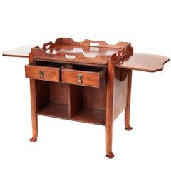 Unusual Barr Walnut Drop-Leaf Coffee Table