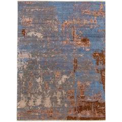 Zeitgenössischer indischer Teppich