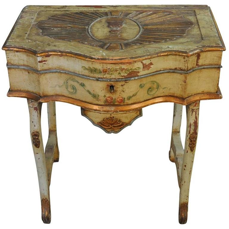 Outstanding Italian, 17th Century Traveling Prayer Table For Sale