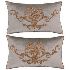 Antique Textile Pillows by B. Viz Designs