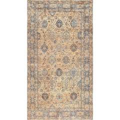 Oversized Antique Kerman Persian Rug