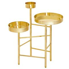 Brass Side Table 6A, OCD Collection