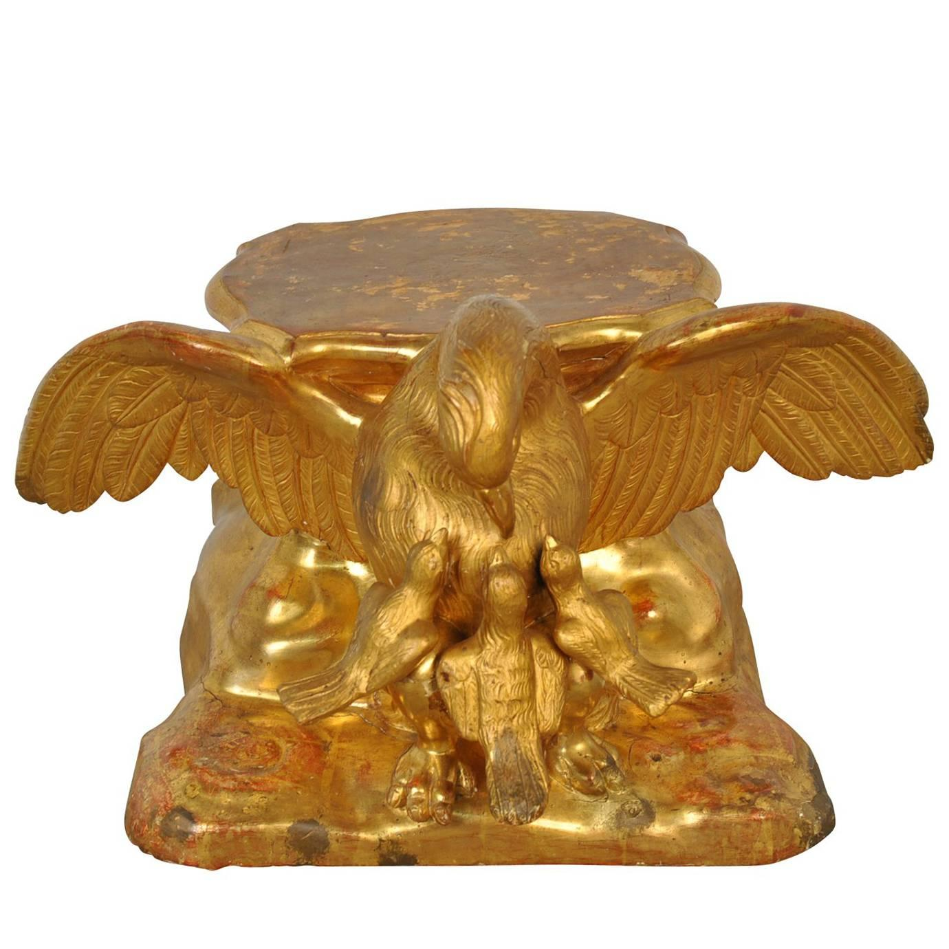Italian 18th Century Tabletop Stand or Pedestal