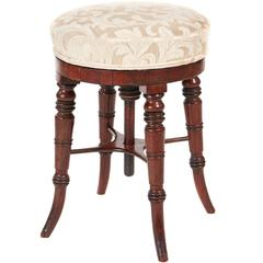 Victorian Rosewood Revolving Music Stool