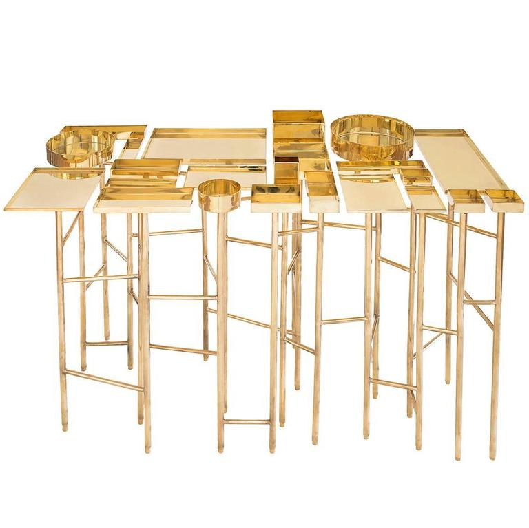 Brass Table 1A, the OCD Collection For Sale