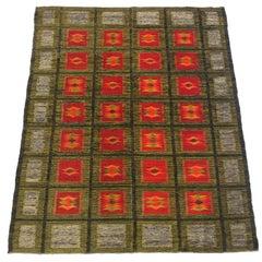 Danish Modern Flat-Weave Carpet