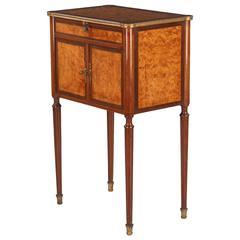 "French Louis XVI Style  ""Entre-Deux"" Cabinet, circa 1900s"