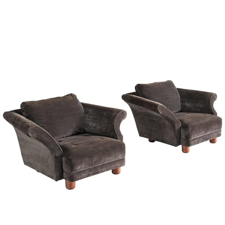 Josef Frank Pair Of U0027Liljevalchsu0027 Lounge Chairs ...