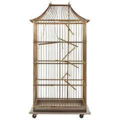 French Metal Birdcage