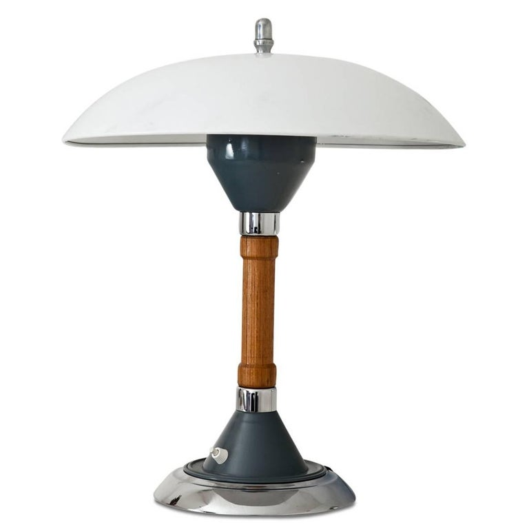 Militaria Desk Lamp By Kaiser Idell Germany 1940s At 1stdibs