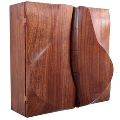 One of a Kind Studio Charles B. Cobb Wall Cabinet, US, 1982
