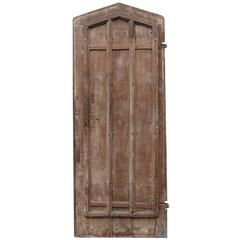 18th Century English Gothic Oak Plank Door