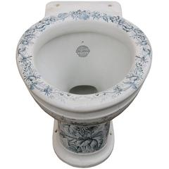 Antique 'Gatrix Laurel' Toilet