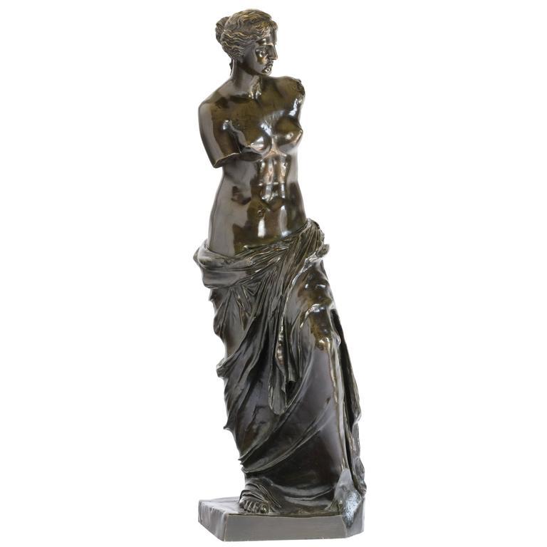Bronze of Venus De Milo, c.1900 For Sale