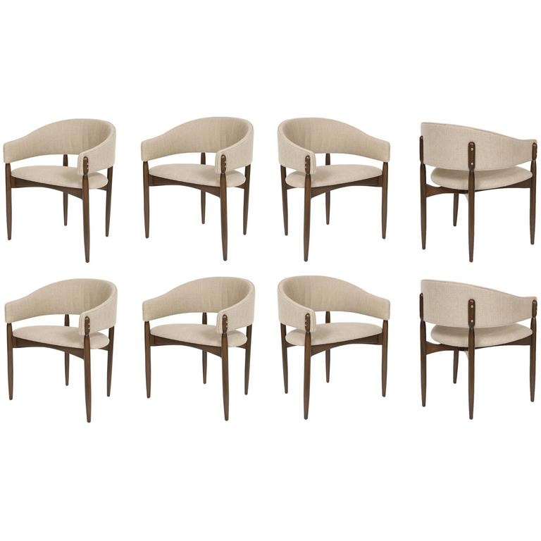 Set of Eight Enroth Dining Chairs 1