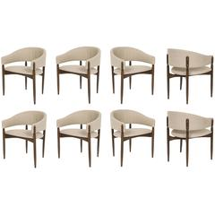Set of Eight Enroth Dining Chairs