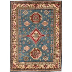 Beautiful Decorated New Kazak Rug
