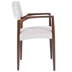 Rosewood Armchair by Aksel Bender Madsen, Denmark, 1960s
