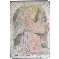 Italian Fresco of the Angel Gabriel