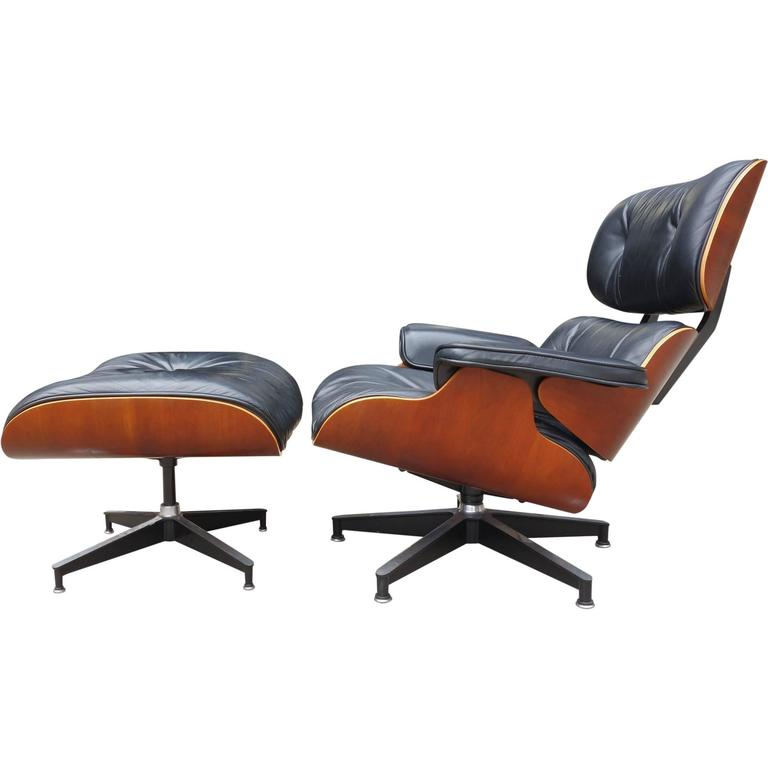 Eames lounge chair 670 and ottoman for herman miller for - Herman miller lounge chair and ottoman ...