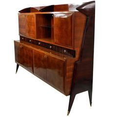 Large Architectural Bar Cabinet