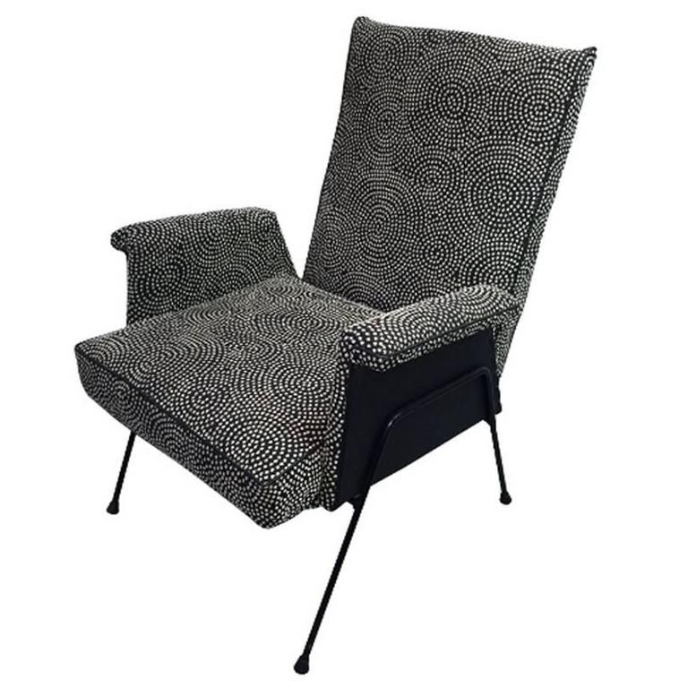 Bernard Goss For Pandar Steel Rod Armchair For Sale