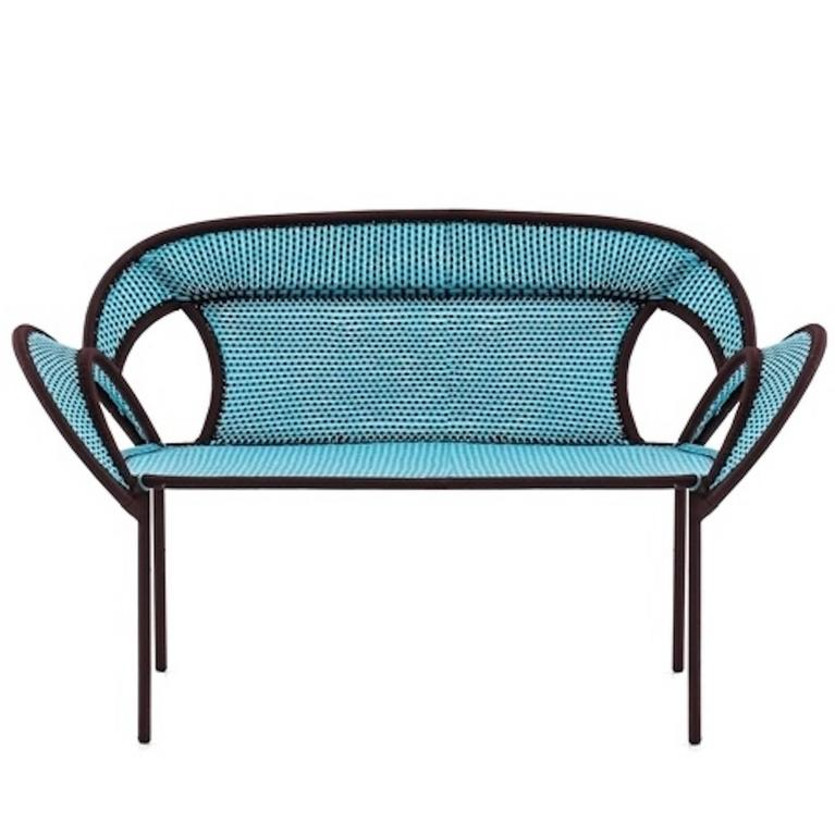 Moroso Banjooli Settee for Outdoors in 10 Different Color Combinations