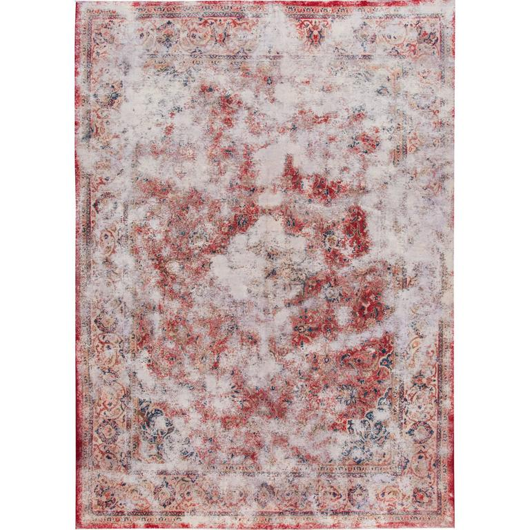 Lovely nice vintage distressed overdyed rug for sale at for Nice rugs for sale